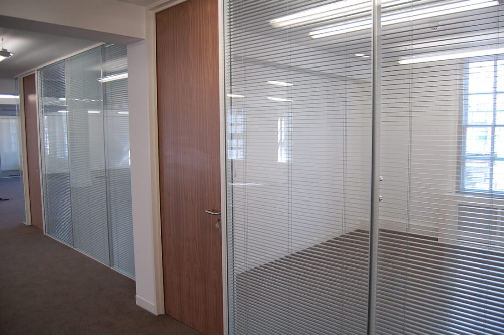 Clear Double Glazed with Mullions
