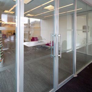 contempo door double glazed